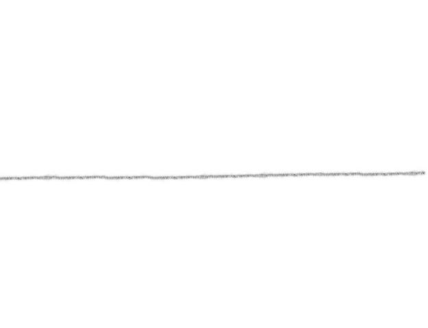 Cordón Spika plata 1mm