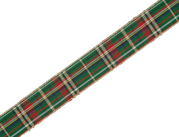 Cinta Escocesa verde