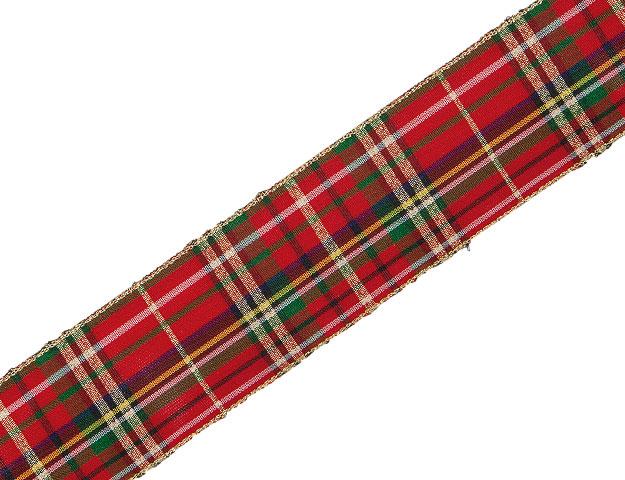 Cinta Escocesa rojo
