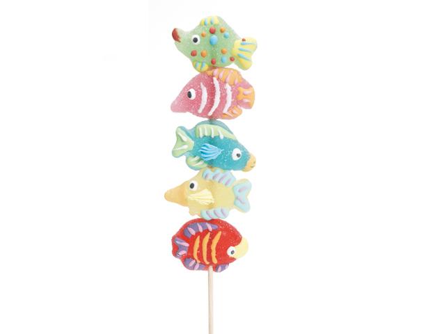 Brocheta jelly peces