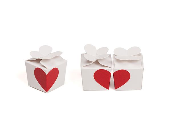Boîte trêfle coeur