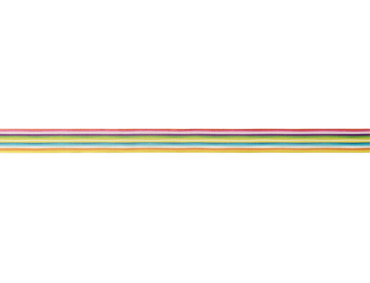 Cinta Arco Iris c/alambre 16mm 20m