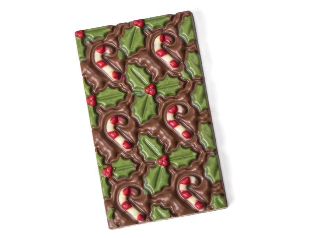 Tableta chocolate Navidad