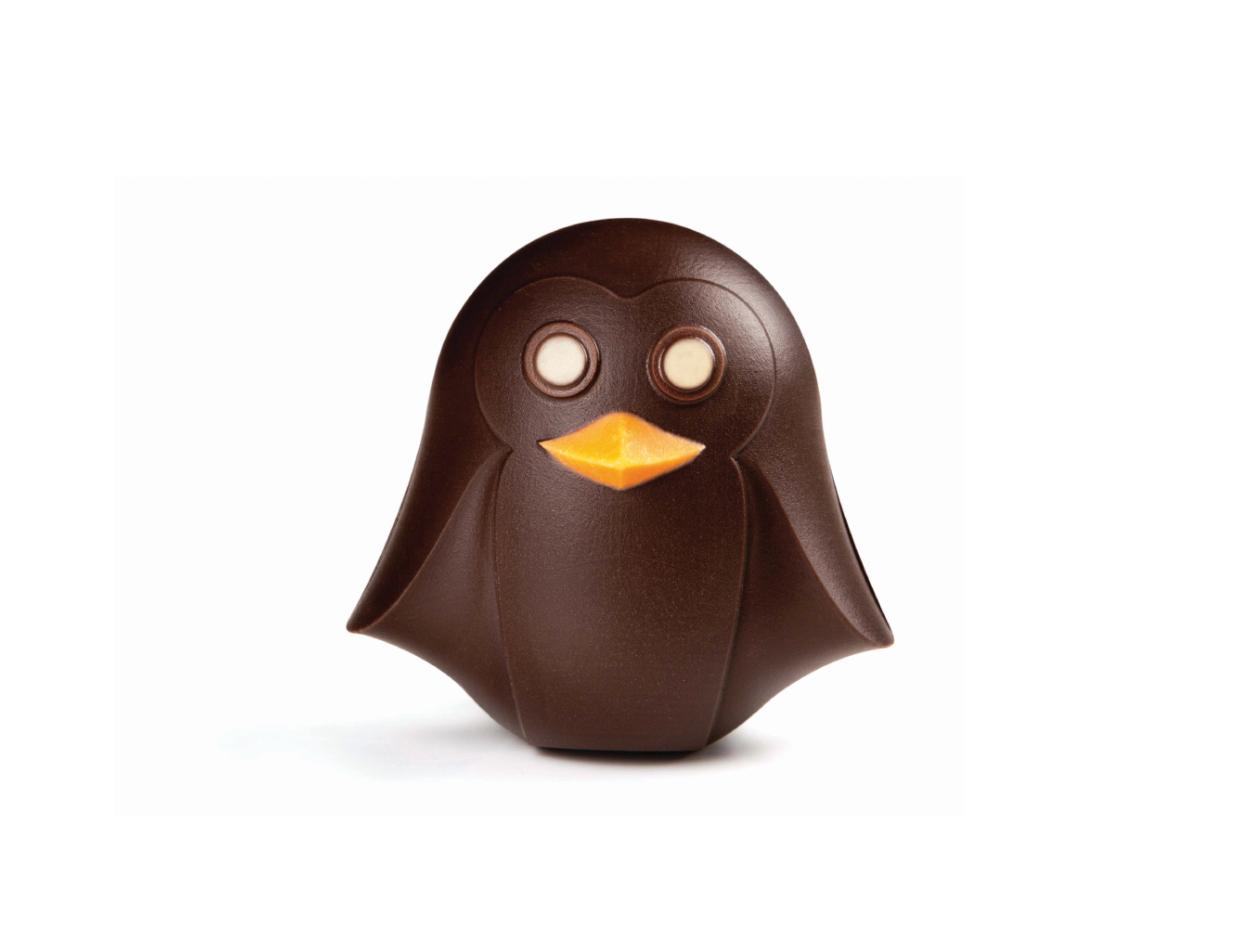Fig choc pequeño pingüino  8 cm / cj 12 ud