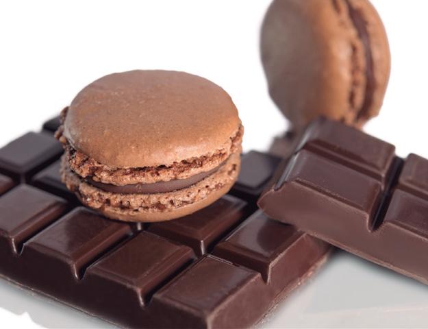 Macaron chocolate