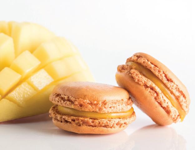 Macaron mango
