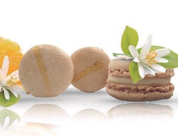 Macaron flor de azaha