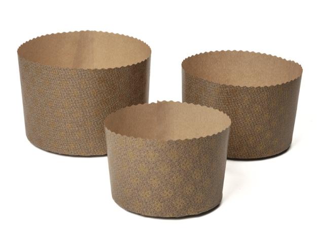 Molde panettone papel