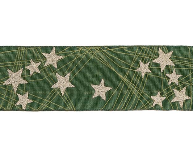 Cinta Stars verde - 40mm - 20mts