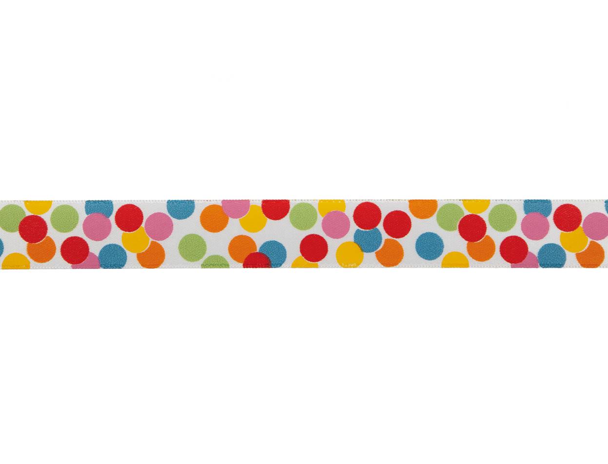 Cinta satín Balloons 25mm 20m