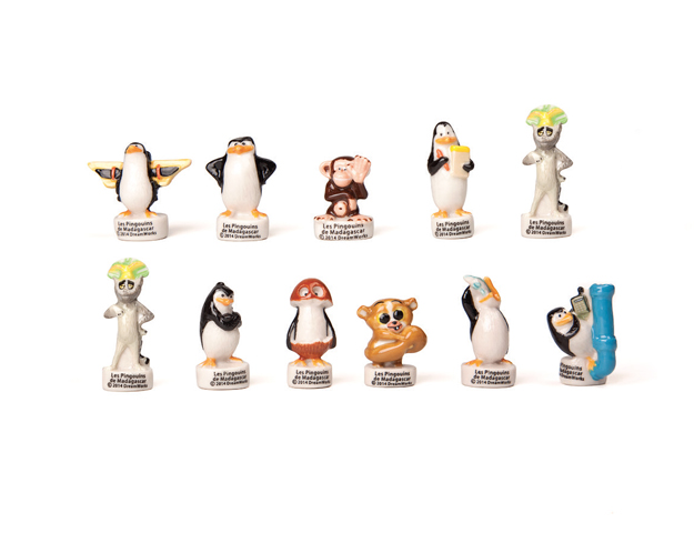 Sopresa pinguinos de Madagascar