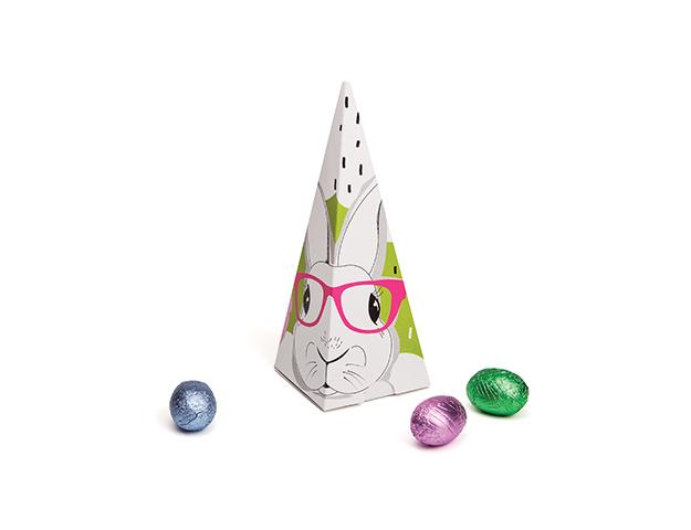 Cono temático Hipster Bunny