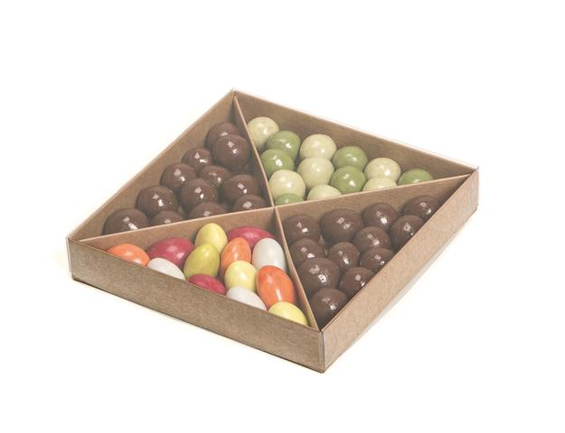 Boîte Diagonal à compartiments