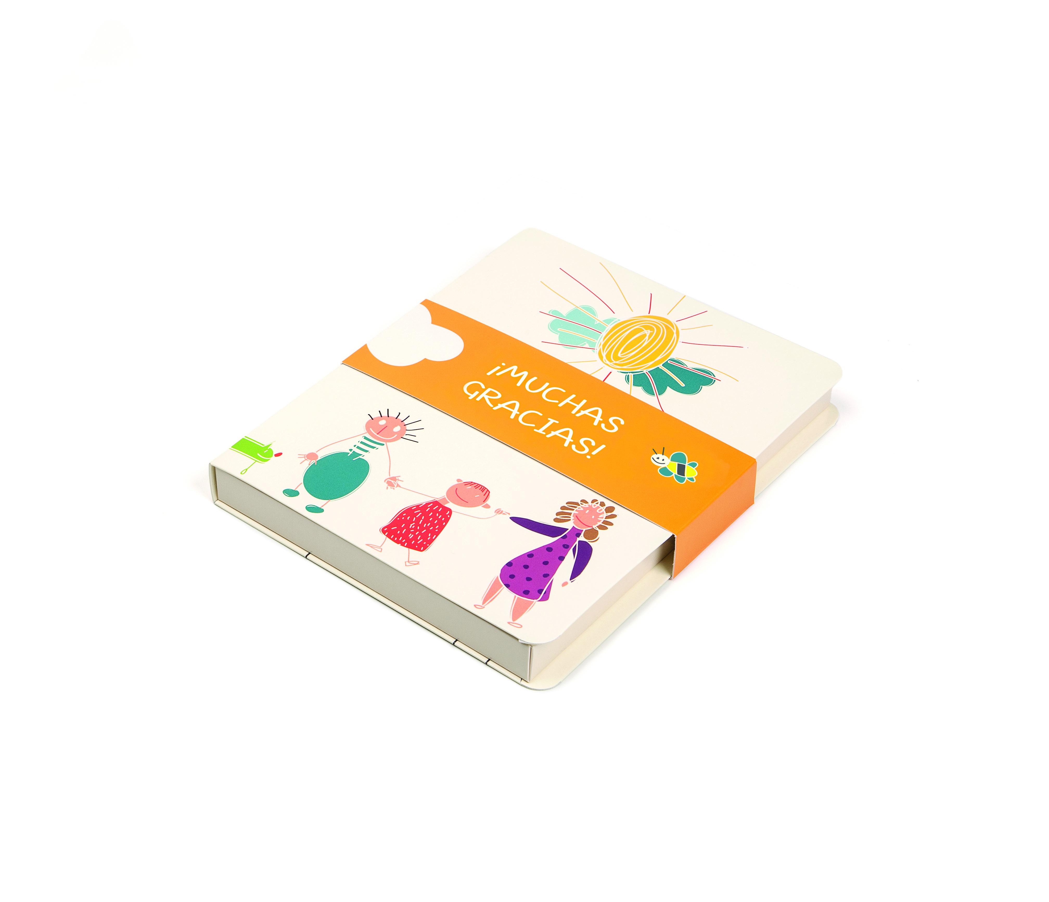 Caja libro Gracias