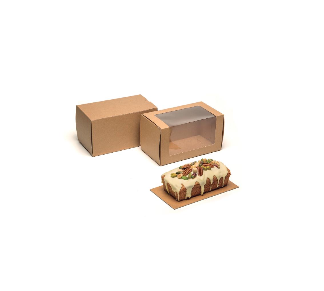 Caja cake visión kraft