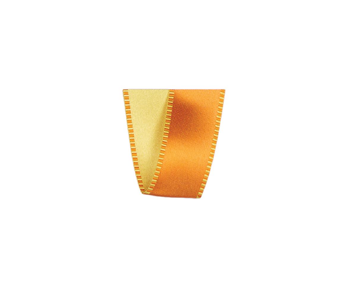 Ruban Passion orange 15 mm 25 m