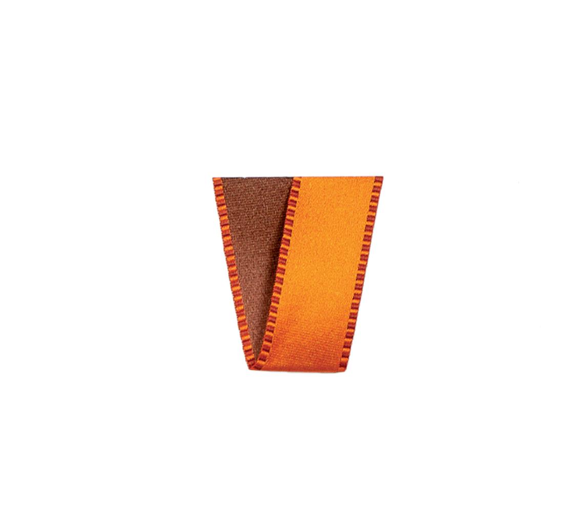 Ruban Passion orange foncé 15 mm 25 m
