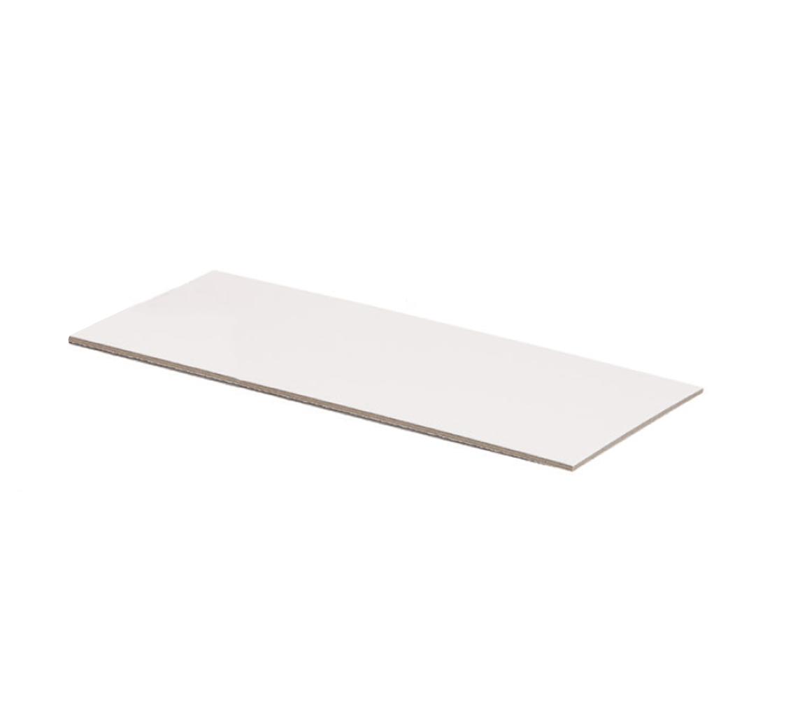 Support blanc pour gâteu 248x108x2/pq.50u