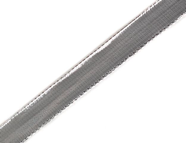 Cinta glitzer 15mm plata 25mts/1u