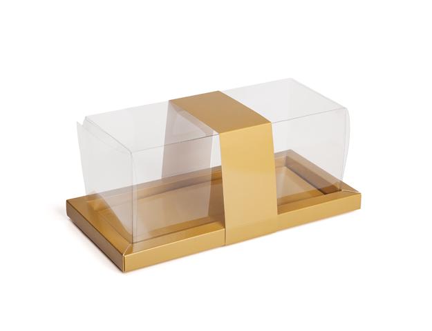 Caja para troncos Galaxy oro