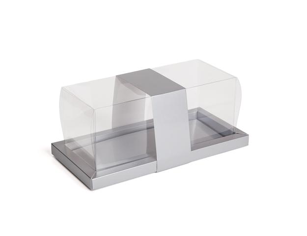 Caja para troncos Galaxy plata