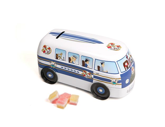 Caja Van con 150gr Caramelos topos