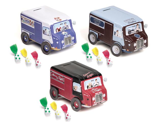 Caja Camión 150gr Topos