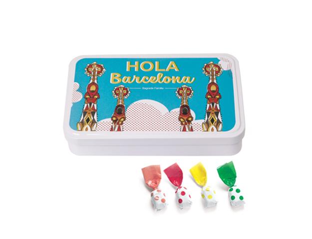 Lata Grande BCN Gaudí 190 gr caramelo Topos