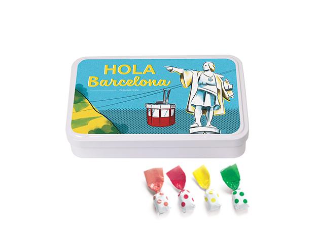 Lata Grande BCN Colón 190 gr caramelo Topos