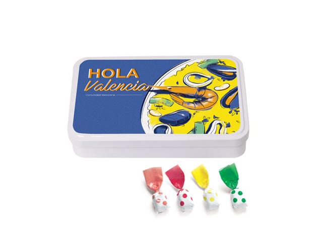 Lata Grande Valencia 190 gr caramelo Topos