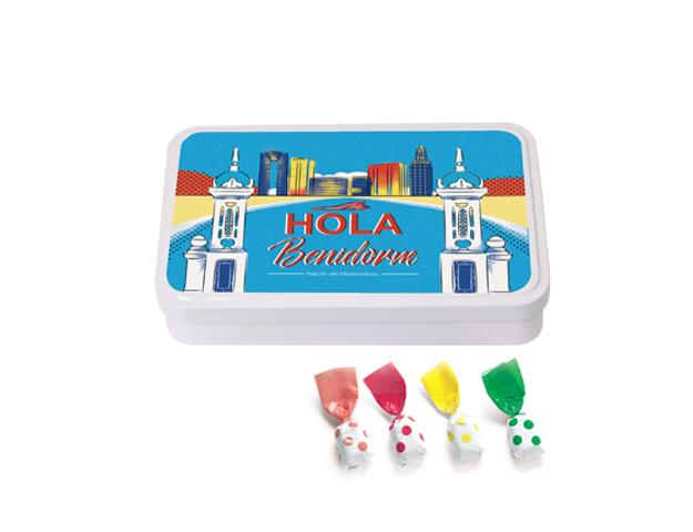 Lata Grande Benidorm 190 gr caramelo Topos