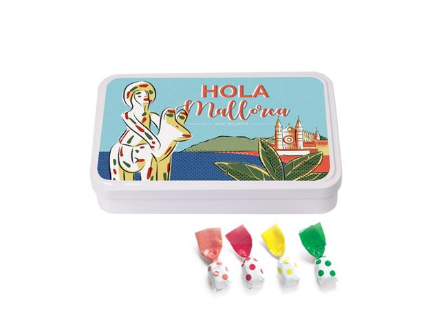 Lata Grande Mallorca 190 gr caramelo Topos