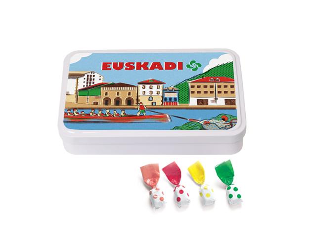 Lata Grande Euskadi 190 gr caramelo Topos