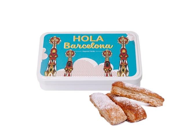Lata Grande BCN Gaudí 100 gr hojaldre