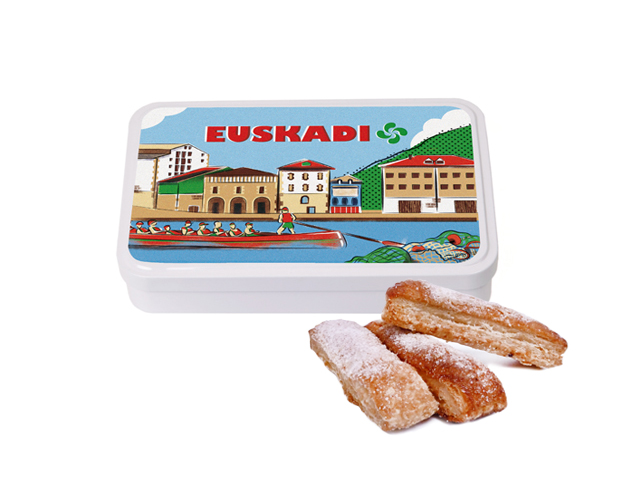 Lata Grande Euskadi 100 gr hojaldre