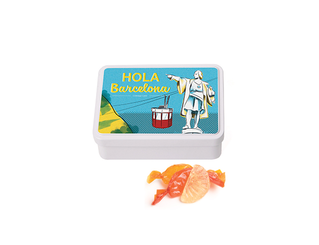Lata Mediana BCN Colón 100 gr caramelo gajos
