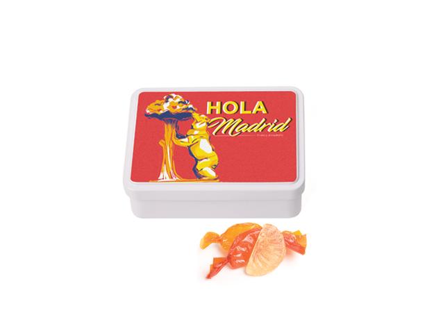Lata Mediana Madrid 100 gr caramelo gajos