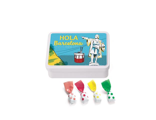 Lata Mediana BCN Colón 100 gr caramelo topos