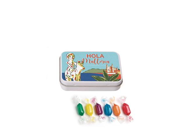 Lata Pequeña Costa Brava 45 gr caramelo mini duro