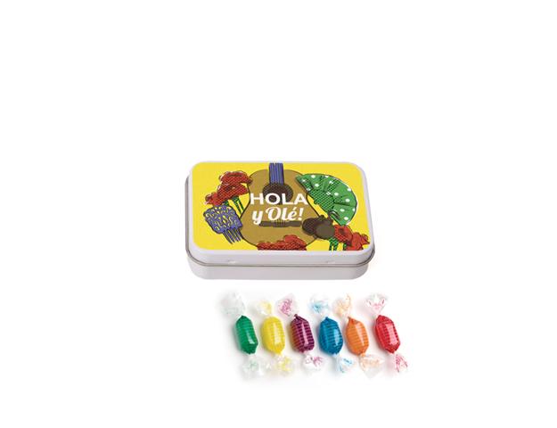 Lata Pequeña Olé 45 gr caramelo mini duro