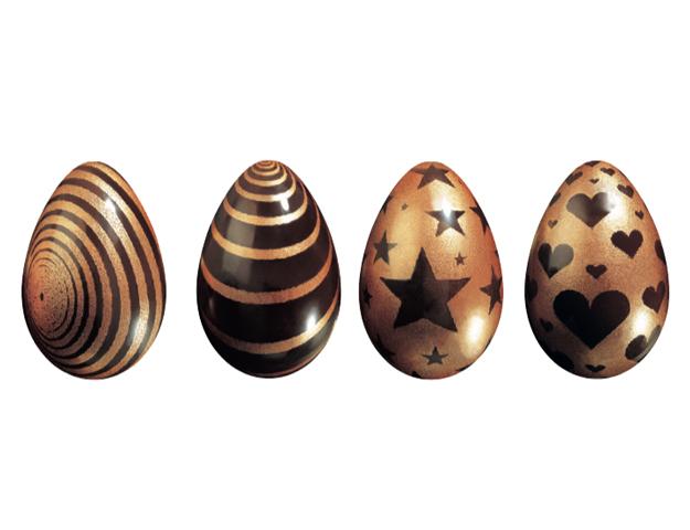 Huevos brillantes