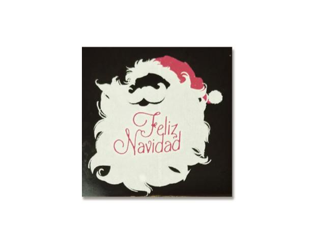 Placa Papá Noel