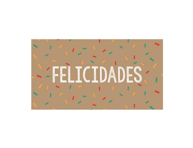 Felicidades C