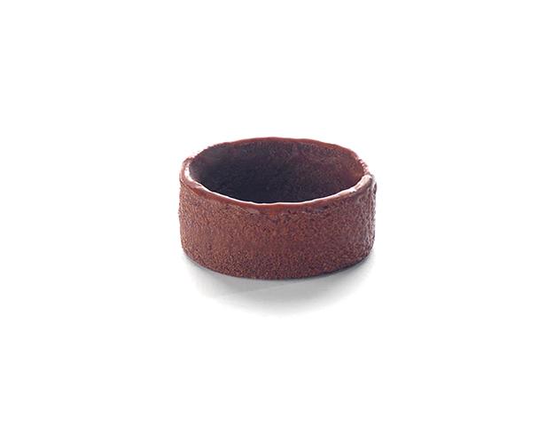 Pequeña redonda chocolate
