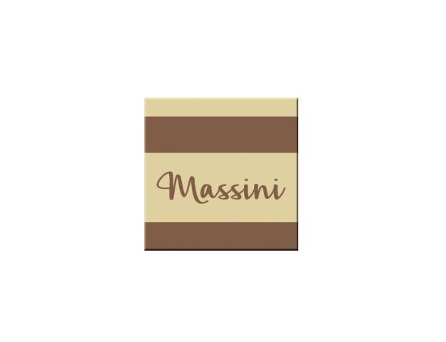 72 carrés  CB  Massini   2,5 cm