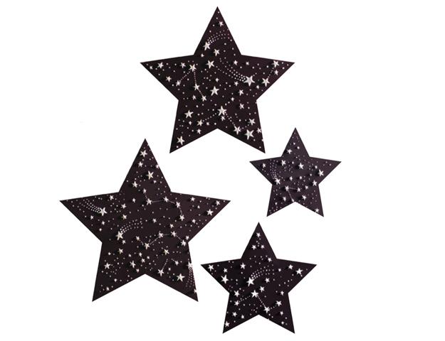 Estrellas con relieve