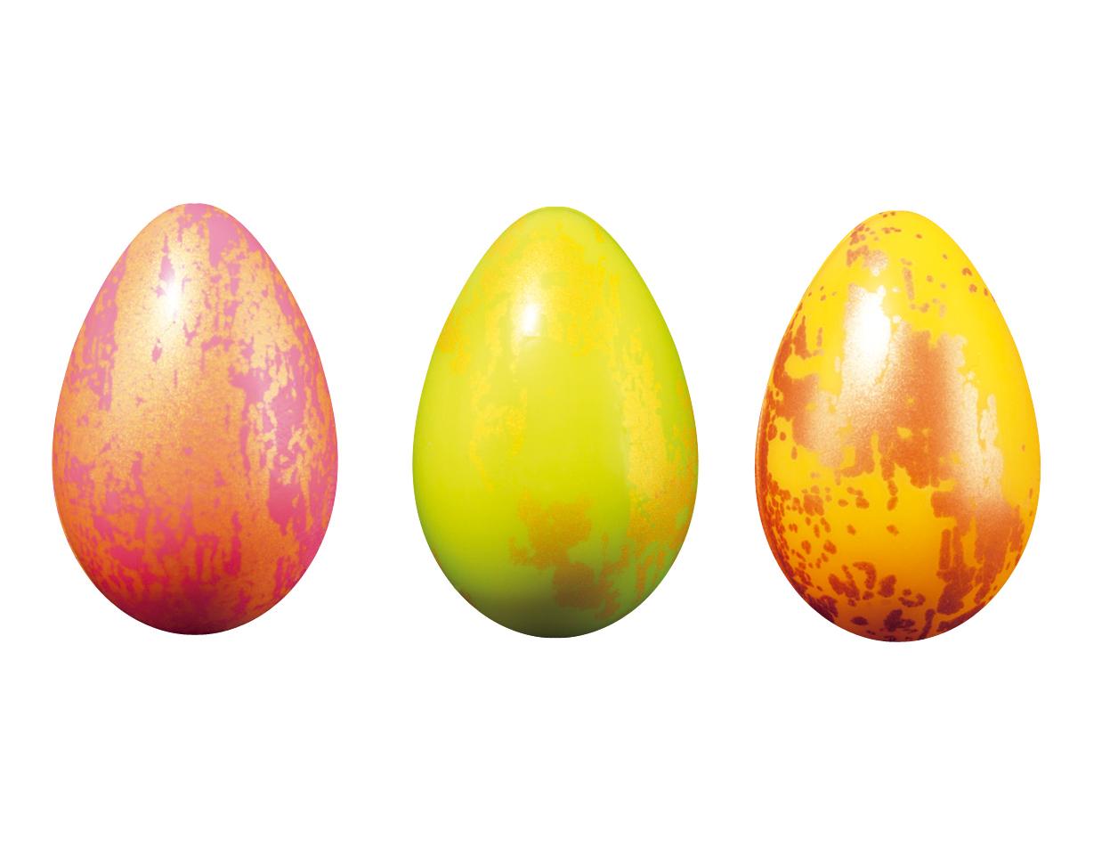 Huevos estucados