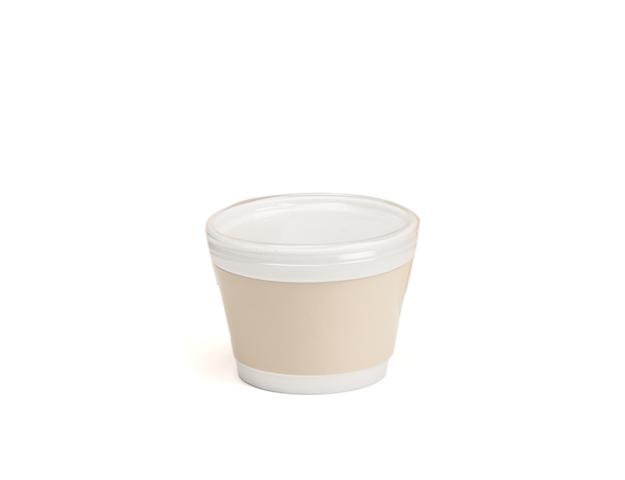 Pot à glace crème