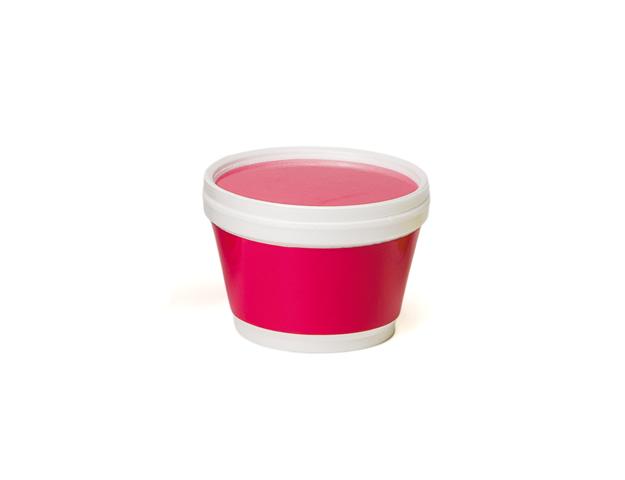Vaso helado con franja fucsia 230ml/cj.50u