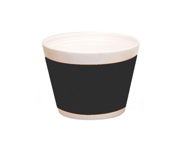 Vaso helado franja negra 400 ml